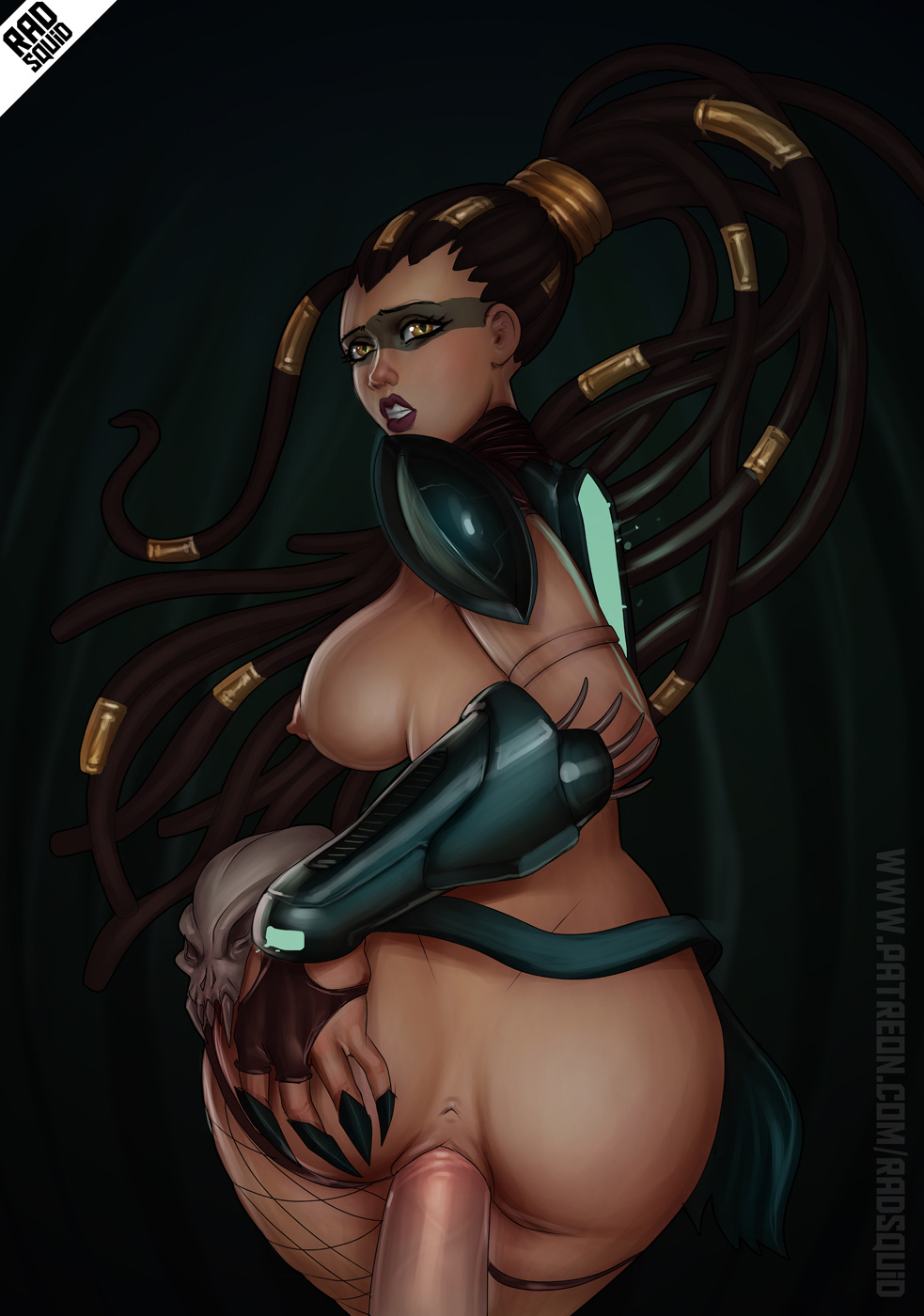 2501331 - League_of_Legends Nidalee the-essential-squid